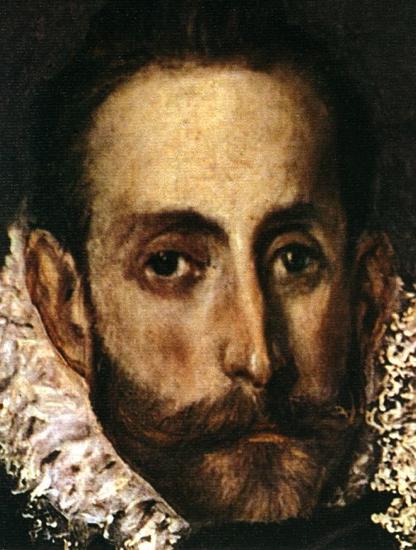 """Autoretrato del Greco en el """"Entierro del Conde de Orgaz"""" (Toledo)"""