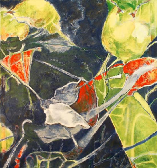 Luis Jimenez-Ridruejo, Instar #1, acrylic on canvas, 34