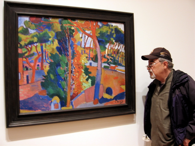 Luis Jimenez-Ridruejo en el MoMA. Visitando a Derain