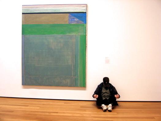 Luis Jimenez-Ridruejo, MoMA 2008. Richard Diebenkorn, Ocean Park #115