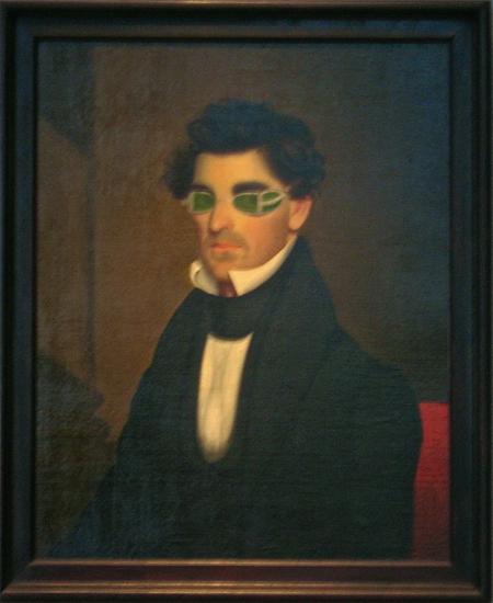 Retrato de Nathaniel Olds por Jepta Wade (1837). Foto : Luis Jimenez-Ridruejo.