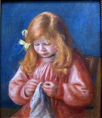 portrait of Jean Renoir, Art Institute of Chicago