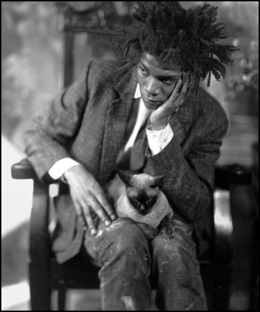 """Basquiat:""""Si estoy más de una semana sin pintar, me aburro."""""""