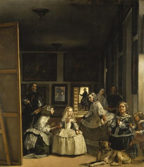 """""""Las Meninas"""", varios siglos después.  (Diego de Silva y Velázquez, 1656) """"No hay cuadro alguno que nos haga olvidar este"""" (Carl Justi)"""