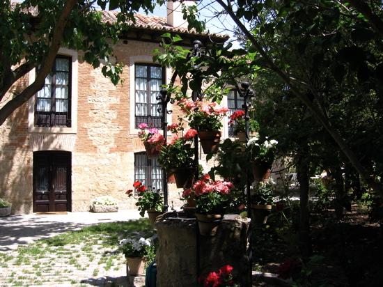 cartas_italianas foto de un jardin. Foto de Luis Jimenez-Ridruejo