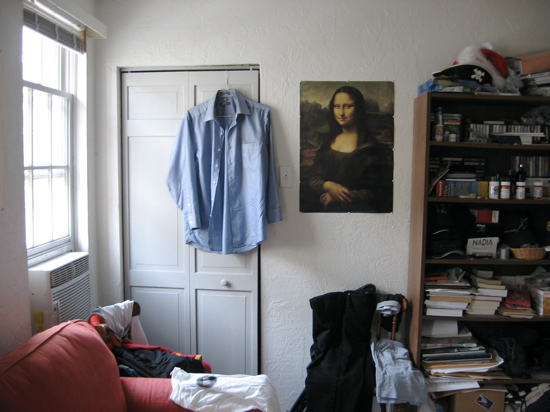 photo of a poster of The Mona Lisa