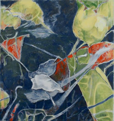 "Luis Jimenez-Ridruejo, Instar #1, acrylic on canvas, 36"" x 34"""