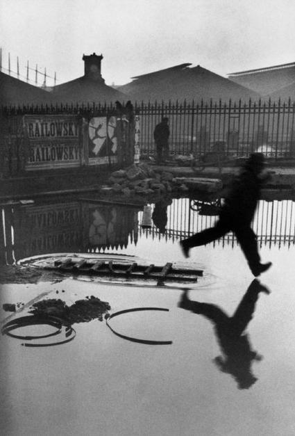 """""""Detrás de la Estación de San Lázaro."""" en Paris (Foto H C-B)"""